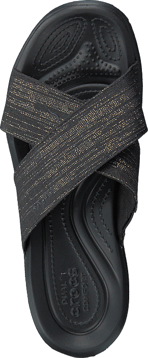Crocs - Capri Shimmer Xband Sandal W Black/black