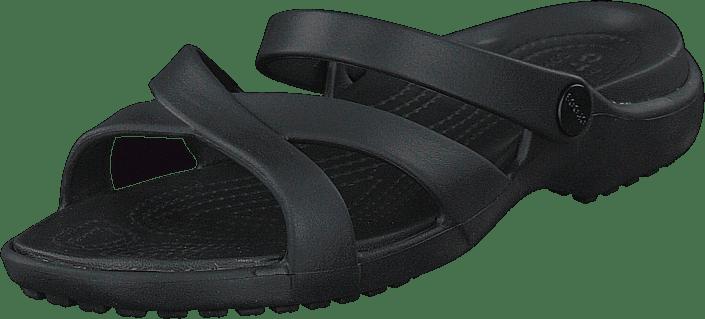 Crocs - Meleen Crossband Sandal W Black
