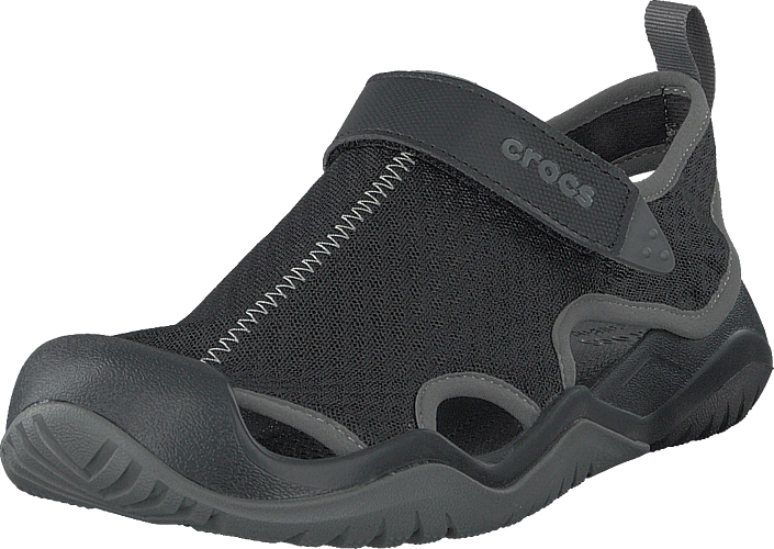 Crocs - Swiftwater Mesh Deck Sandal M Black