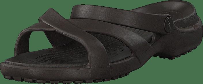 Crocs - Meleen Crossband Sandal W Espresso