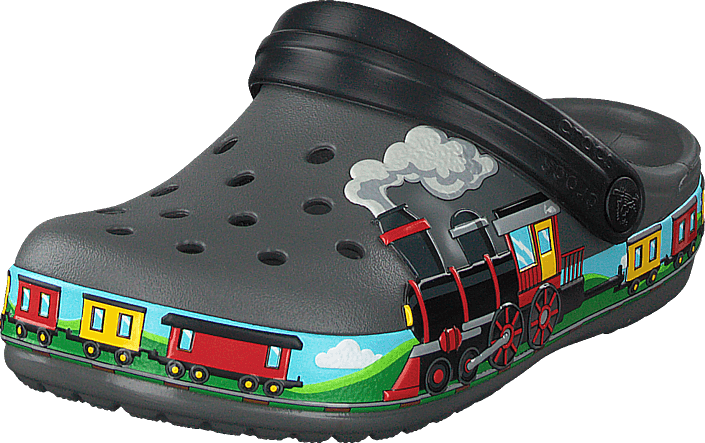 Crocs - Crocsfl Train Band Clog K Slate Grey