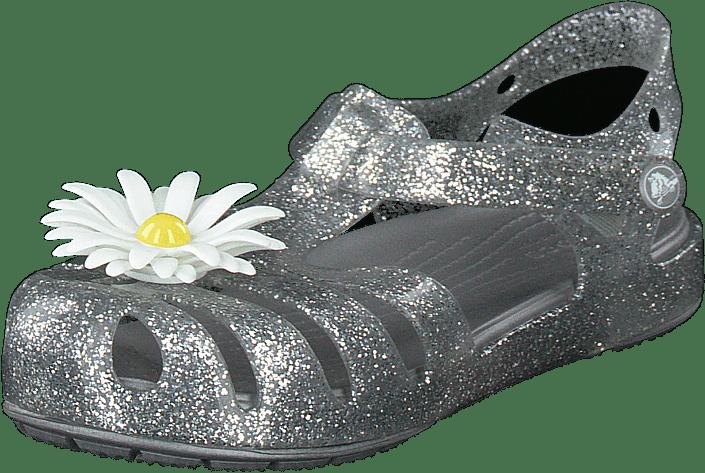 Crocs Isabella Charm Sandal K Silver