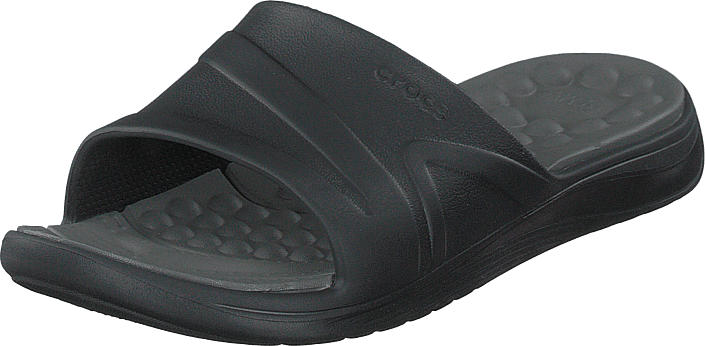 Crocs - Reviva Slide Black/slate Grey