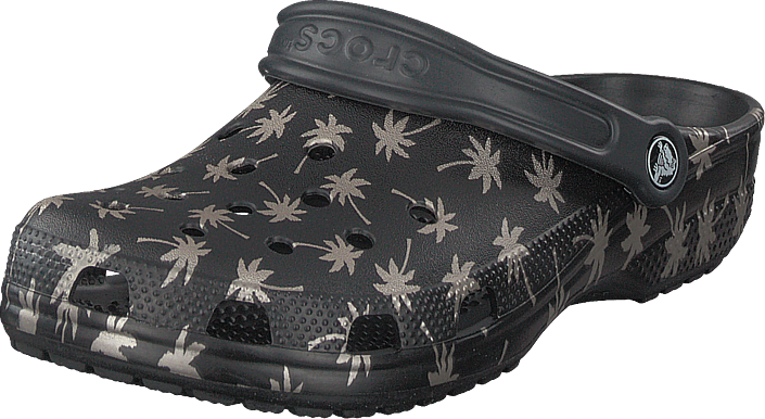 Crocs - Classic Seasonal Graphic Clog Black/gold