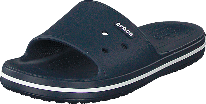 Crocs - Crocband Iii Slide Navy/white