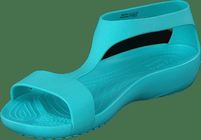 47e6d55357d9 Buy Crocs Crocs Serena Sandal W Pool turquoise Shoes Online ...