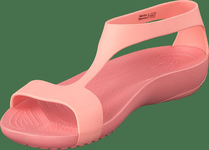 Køb Serena Crocs Sko 60121 Flade Online melon Sandal Lyserøde 36 W Melon r61rw