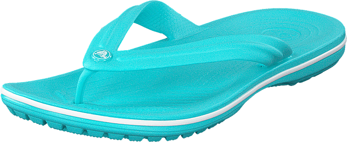 Crocband Flip Pool/white