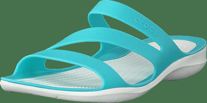Crocs - Swiftwater Sandal W Pool/white