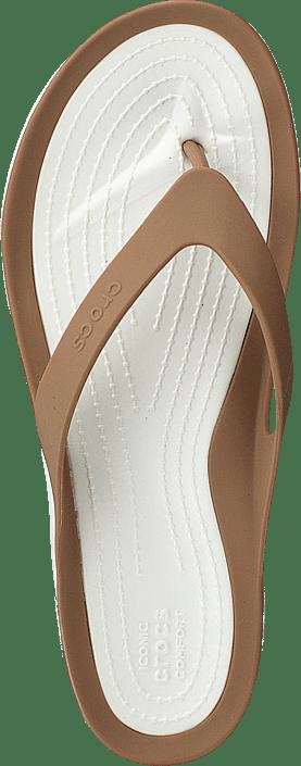 Kjøp Crocs Swiftwater Flip W Bronze/oyster Sko Online