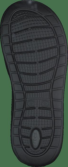 Crocs Sko Flip Online slate Black Kjøp Grey Sandals Literide Sorte pwdTqqOx