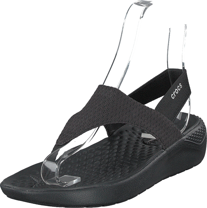 Kjøp Black Online Sorte black Mesh Crocs Literide W Flip Sandals Sko rwOArTqX