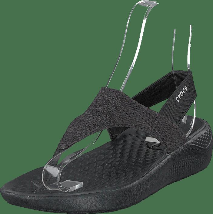 Crocs - Literide Mesh Flip W Black/black