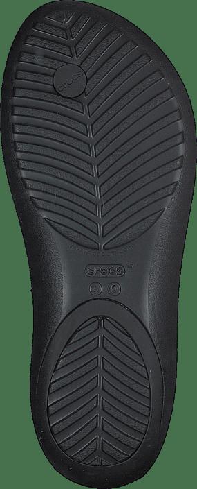 W Online Sorte black Embellish Sandals Flip Serena Kjøp Crocs Black Sko IaxwqApf