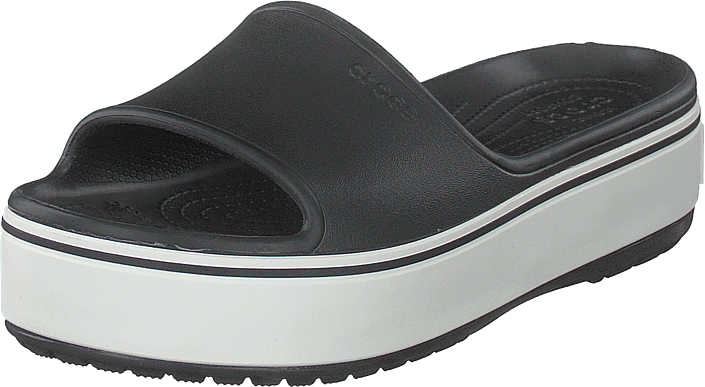 Crocs - Crocband Platform Slide Black/white