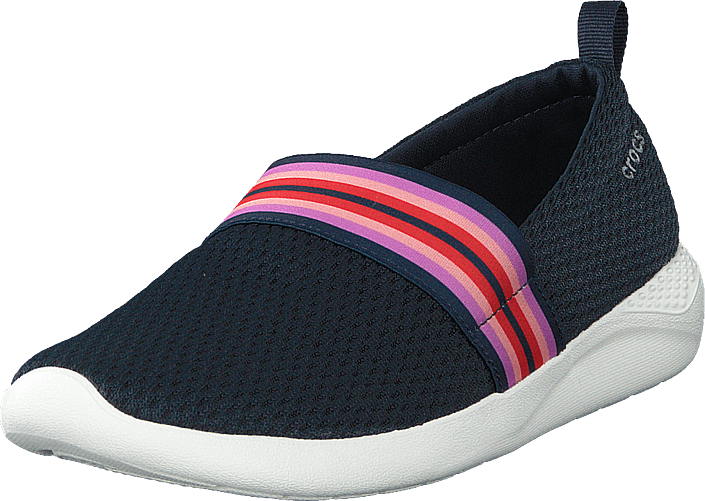 Crocs - Literide Mesh Slip On W Navy Colorblock/navy