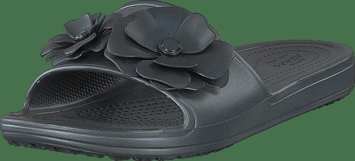 Crocs - Crocs Sloane Vividblooms Sld W Black/black