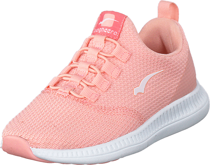 Bagheera - Sway Jr Soft Pink/white