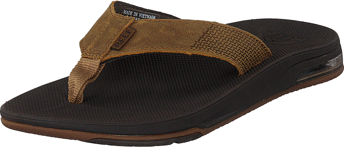Reef - Leather Fanning Low Brown