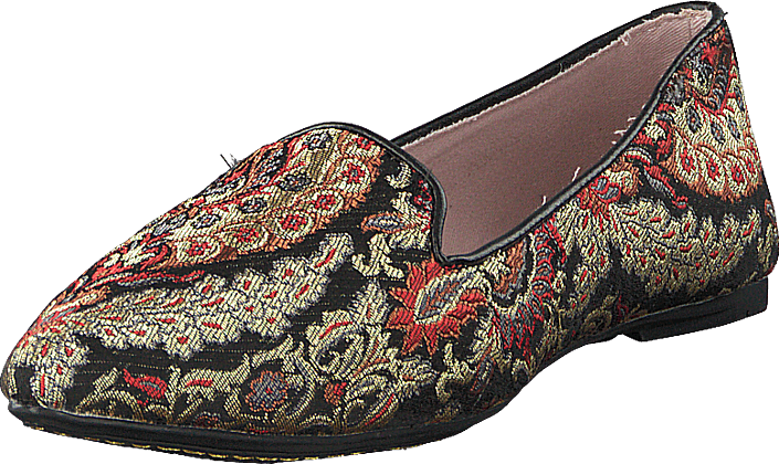Butterfly Twists - Florence Black Brocade