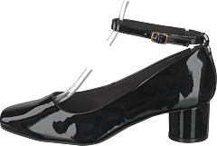 Bara Buckle Pump 103 - Black 3