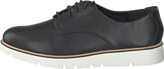 Bita Derby Laced Up Shoe 100 - Black