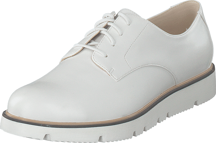 Bianco - Bita Derby Laced Up Shoe 800 - White