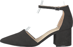 Divided D'orsay Pump 101 - Black 1