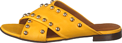 Sandals Yellow Nappa/gold
