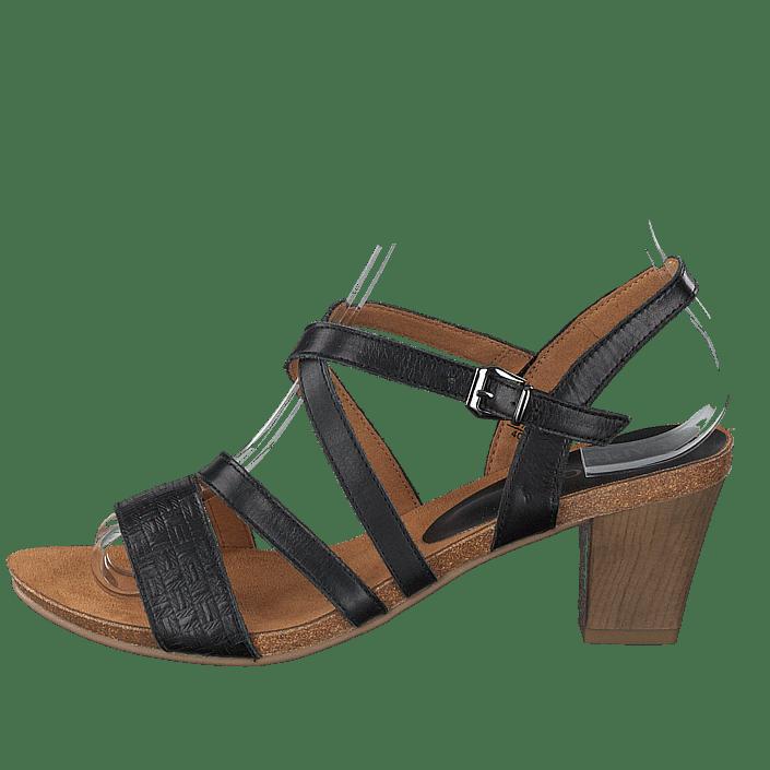 Femme Chaussures Acheter Caprice Chenoa Blac Nappa Chaussures Online