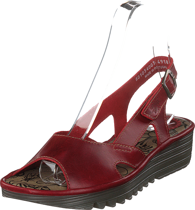 Fly London - Edon034 Bridle Red