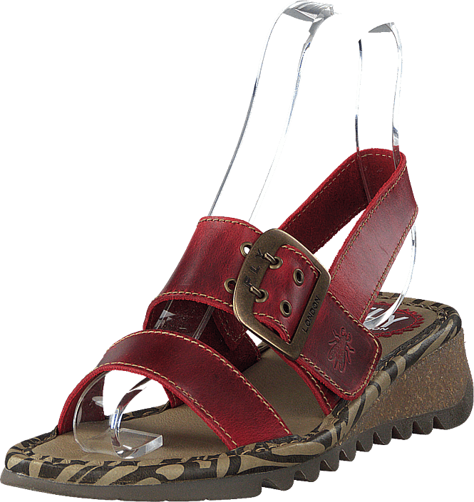 Fly London - Tapi K Bridle Red