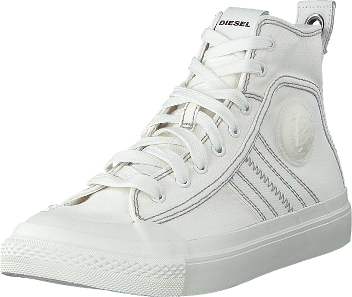 Diesel - S-astico Mid Lace Star White