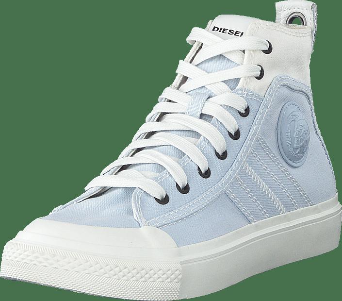Diesel - S-astico Mid Lace W Star White/ballad Blue