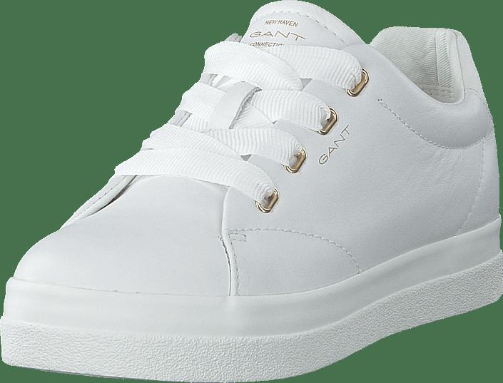 gant skor herr sneakers vita