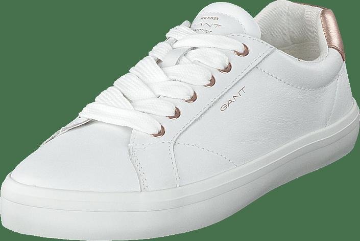 Gant - Baltimore G296 Bright White/ Rose Gold