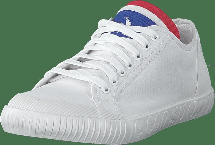 Sneakers White Le Sko Coq Optical Canvas Kjøp Sportif Online Hvite National ZnS8qnv