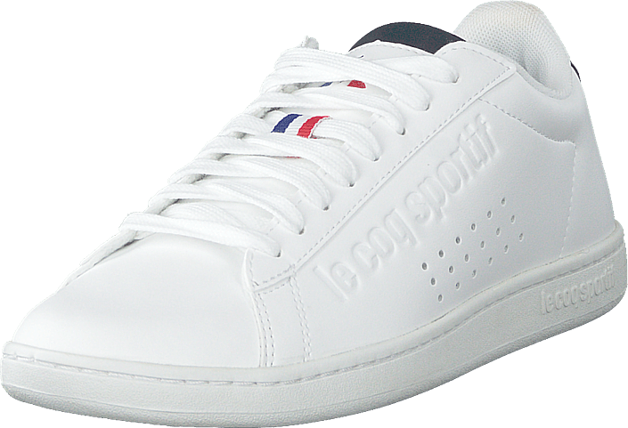 Le Coq Sportif - Courtset S Leather Optical White / Dress Blue