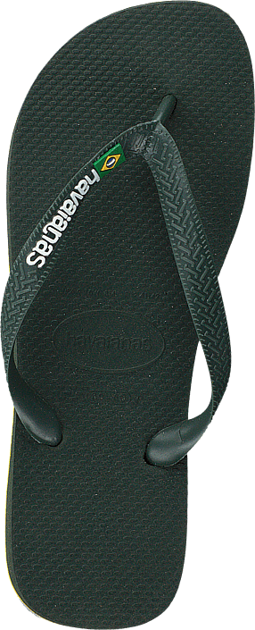 Havaianas Brasil Logo Olive Green 4896 Chaussures Homme