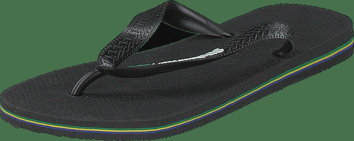 Havaianas - Brasil Logo Black/black 1069