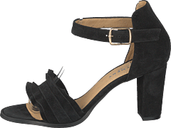 Silke Wave Black Suede
