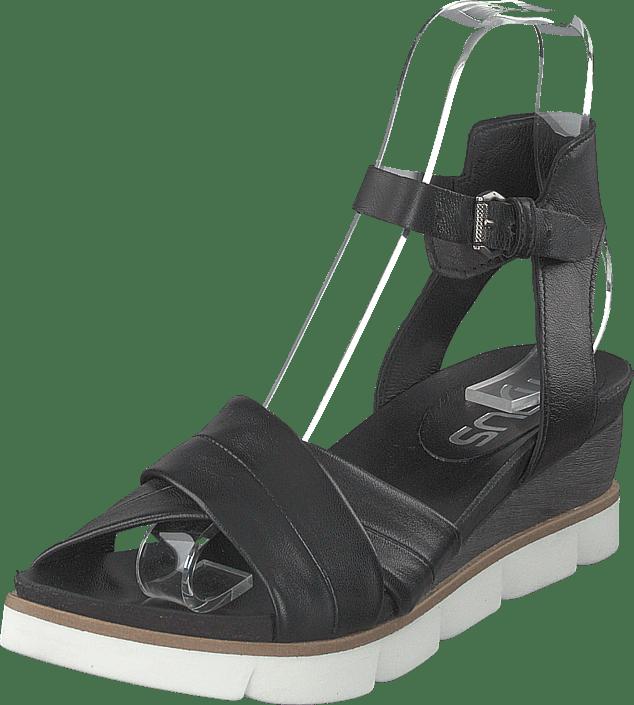 MJUS - Black Sandal Tapasita Nero