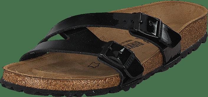 Birkenstock - Yao Balance Slim Birko-flor Patent Black