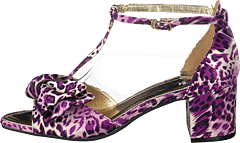 Eve Purple Leopard