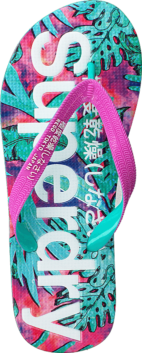 Kjøp Superdry Aop Flip Flop Shadow Leaves Sko Online