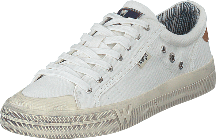 Wrangler - Sniper Low White
