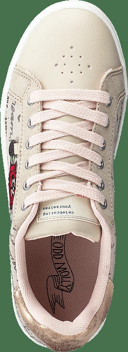 Scribble Sneaker Light Chalk