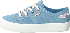 Pedestrian Sneaker Light Denim