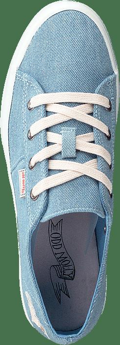 Pedestrian Sneaker Light Denim