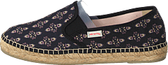 Vibrant Walker Espadrillo Almost Black